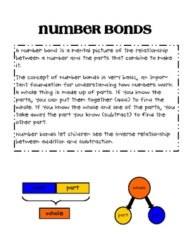 Number Bonds - Making 12