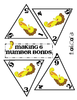 Number Bonds - Making 6
