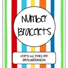 Number Bracelets Common Core K.OA.3