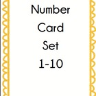 Number Card Set 1-10