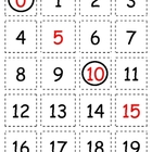 Number Cards 0-100: Patterns for 5 and 10