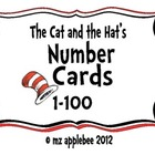 Cat and the Hat's Number Cards 1-100