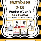 Number Cards (Bee Themed)