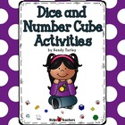 Number Cube and Dice Activities