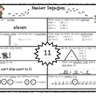 Number Detectives K-2