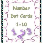 Number Dot Cards 1-10