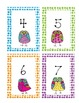 Number Dot Pattern Cards with Bright Owls