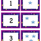 Number Flash Cards with Stars