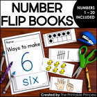 Number Flip Books {Numbers 1-20, Ten Frame, Base 10, Tally