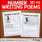 Number Formation Poems Practice Pages