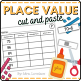 Number Forms: Cut and Paste with Place Value, Expanded, St