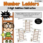 Number Ladders/ 2-Digit Addition and Subtraction- CCSS