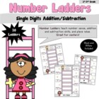 Number Ladders- Add/Subtract Single Digits
