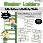 Number Ladders- Add/Subtract/Multiply/Divide