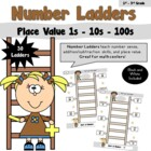 Number Ladders- Place Value 1-10-100