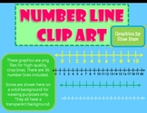 Number Line Clip Art - Common Core Math Tools