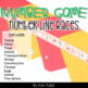 Number Line Games