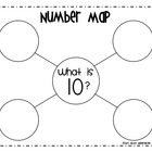 Number Maps 0-10 (Common Core)