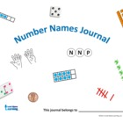 Number Names Math Journal