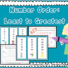 Number Order: Least to Greatest (S.Malek Freebie)