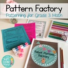 Number Pattern Activities, Centers and Craftivities