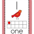 Number Poster Set Back to School