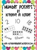 Number Posters: Polka Dot Theme