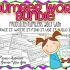 Number Practice BUNDLE 1-100 {trace it. write it. find it.