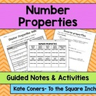 Number Properties Pack