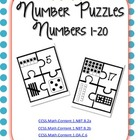 Number Puzzles Numbers 1-20