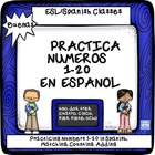 Number Recognition in Spanish 1-20