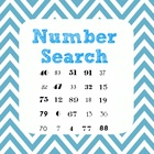 Number Search - GCF, LCM, divisiblity, patterns, algebra -