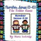 Number Sense (0-10) File Folder Game