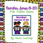 Number Sense (11-20) File Folder Game