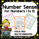 Number Sense Fluency - The First Decade - Numbers 0 to 10