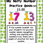 Number Sense: My Nifty Number Practice Book Two- 11-20