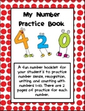 Number Sense: My Nifty Number Practice Book!