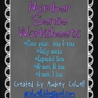 Number Sense Skill Worksheets