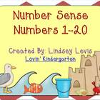 Number Sense for 1-20 {Differentiated, Hands-On Activities