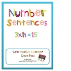 Number Sentences Cooperative Learning Card Pack
