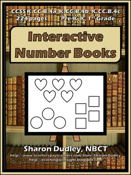Number Shape Books