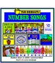 Number Songs Flip Booklets