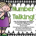 Number Talking Teacher Resources!