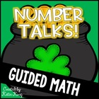 Number Talks Freebie: St. Patrick&#039;s Day Themed