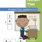 Number Tiles Addition to 9
