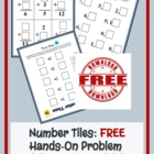 Number Tiles: FREE Problem Solving Activities for the Prim