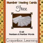 Number Trace Ring Book Freebie
