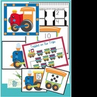 Number Train Packet - Games Centers - Counting and Numbers
