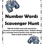 Number Word Scavenger Hunt!