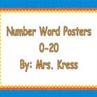 Number Words 0-20